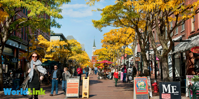 Thành phố Burlington hiền hòa